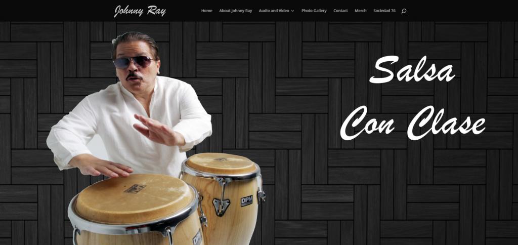 Johnny Ray Salsa Con Clase